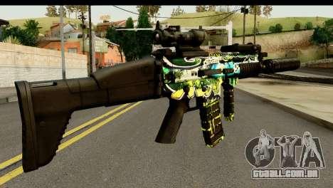 Grafiti M4 para GTA San Andreas segunda tela
