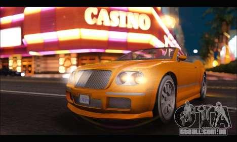 Enus Cognoscenti Cabrio (GTA V) (IVF) para GTA San Andreas