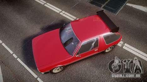 Declasse Rhapsody Camber para GTA 4 vista direita