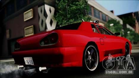 Dirt Elegy Editions para GTA San Andreas esquerda vista