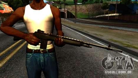 New Rifle para GTA San Andreas terceira tela