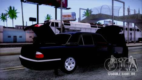 GAZ 31105 para GTA San Andreas vista direita