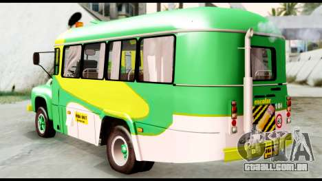 Ford Bus 1956 para GTA San Andreas esquerda vista