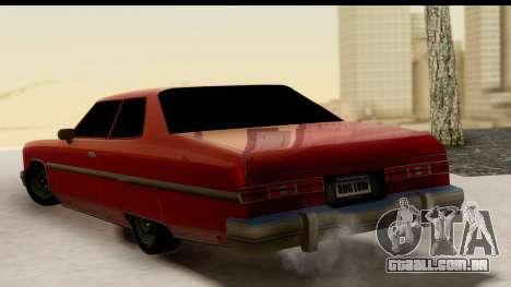 Chevy Caprice 1975 para GTA San Andreas esquerda vista