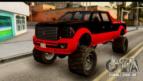 GTA 5 Vapid Sandking XL para GTA San Andreas