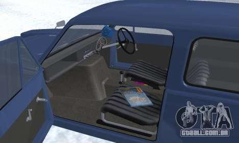 Reliant Supervan III para as rodas de GTA San Andreas
