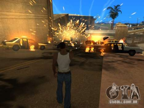 Realistic Effects v3.4 by Eazy para GTA San Andreas