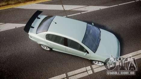 Declasse Premier Sport X para GTA 4 vista direita