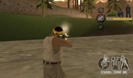 C-HUD TaweR Green para GTA San Andreas segunda tela