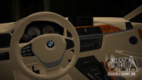 BMW 335i para GTA San Andreas vista direita