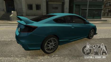 Honda Civic Si 2013 v1.0 para GTA 4 esquerda vista