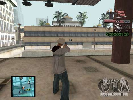 C-Hud Yakuza II para GTA San Andreas