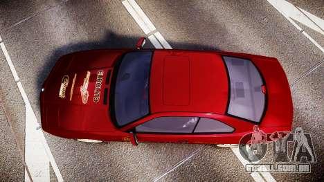 BMW E31 850CSi 1995 [EPM] Castrol Red para GTA 4 vista direita