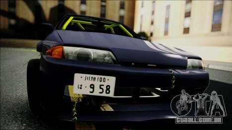 Nissan Skyline GT-S R32 para GTA San Andreas vista direita