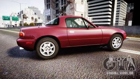 Mazda MX-5 Miata NA 1994 [EPM] para GTA 4 esquerda vista