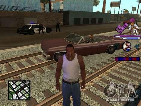 C-HUD TAWER para GTA San Andreas