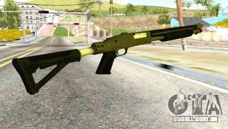 Shotgun from GTA 5 para GTA San Andreas segunda tela