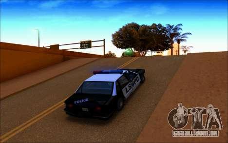 Ivy ENB June para GTA San Andreas segunda tela