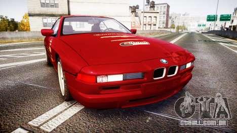 BMW E31 850CSi 1995 [EPM] Castrol Red para GTA 4