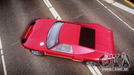 Vapid Bullet 2015 Facelift para GTA 4 vista direita