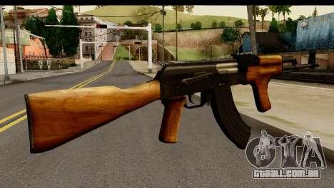 Modified AK47 para GTA San Andreas