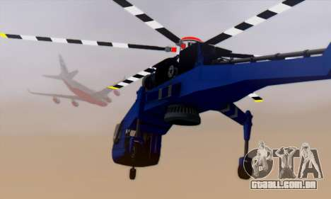Skylift from GTA IV TBOGT para vista lateral GTA San Andreas