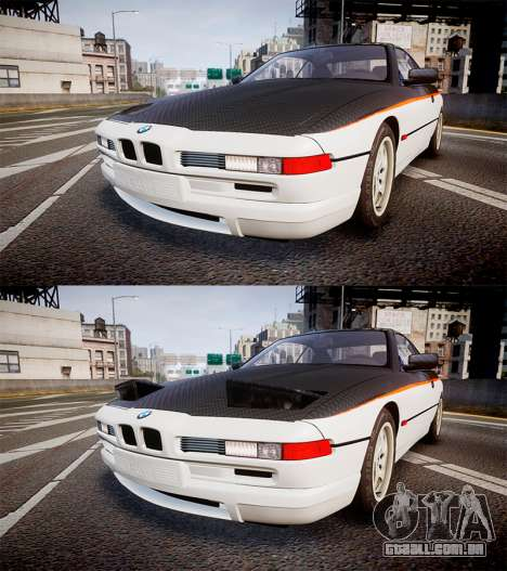 BMW E31 850CSi 1995 [EPM] Carbon para GTA 4 vista lateral