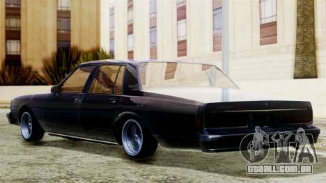 Chevrolet Caprice para GTA San Andreas esquerda vista