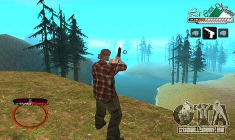 C-HUD LCN para GTA San Andreas segunda tela