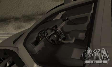 Skoda Octavia Winter Mode para GTA San Andreas