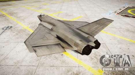 FA-38 para GTA 4 esquerda vista