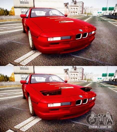 BMW E31 850CSi 1995 [EPM] Castrol Red para GTA 4 vista lateral