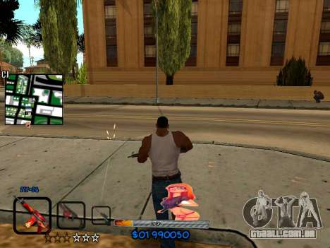 C-HUD by HudMud para GTA San Andreas terceira tela