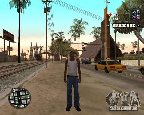 C-HUD Hardcore para GTA San Andreas