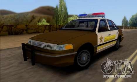 Ford Crown Victoria 1994 Sheriff para GTA San Andreas