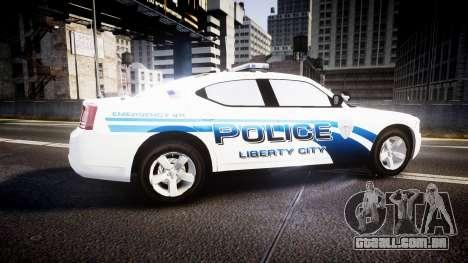 Dodge Charger 2006 LCPD [ELS] para GTA 4 esquerda vista