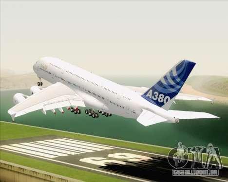 Airbus A380-800 F-WWDD Etihad Titles para GTA San Andreas interior