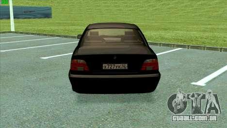 BMW 730i para GTA San Andreas vista direita