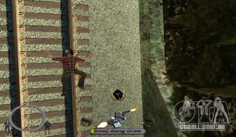 C-HUD BomjGang para GTA San Andreas terceira tela