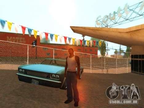 ENB by Robert para GTA San Andreas por diante tela