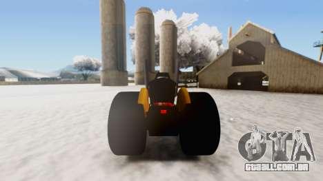Tractor Kor4 v2 para GTA San Andreas vista direita