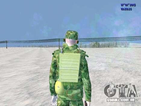 O airborne operador de rádio para GTA San Andreas