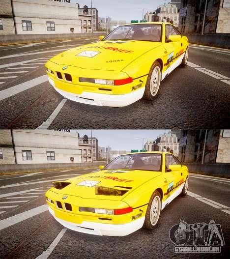 BMW E31 850CSi 1995 [EPM] E-Post Brief para GTA 4 vista lateral