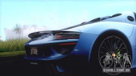 GTA SA ENB - Z.A. Project 2015 para GTA San Andreas décima primeira imagem de tela