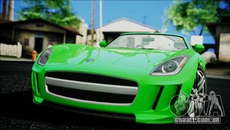 Benefactor Surano para GTA San Andreas