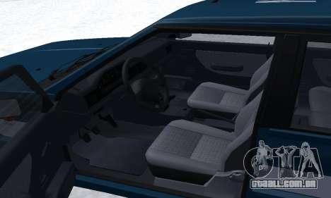 Daewoo-FSO Polonez Kombi 1.6 GSI Police 2000 para GTA San Andreas vista superior