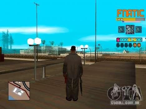 C-HUD Fnatic para GTA San Andreas