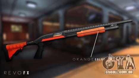 Orange Shotgun para GTA San Andreas segunda tela