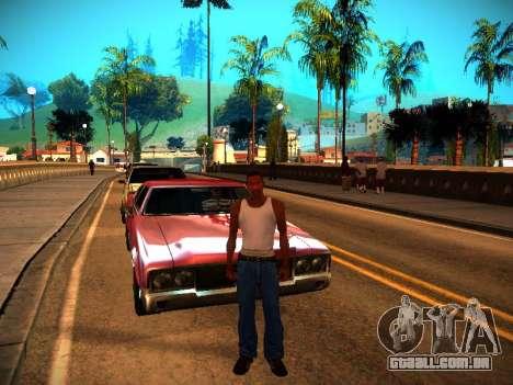 ENB v1.3 para PC fraco para GTA San Andreas sexta tela