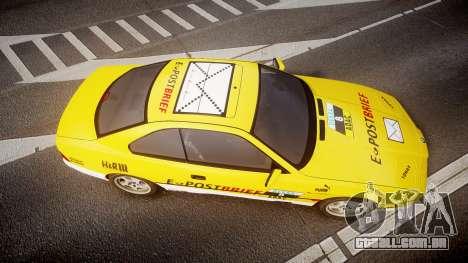 BMW E31 850CSi 1995 [EPM] E-Post Brief para GTA 4 vista direita